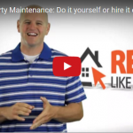 Rental Property Maintenance Do it yourself or hire it out