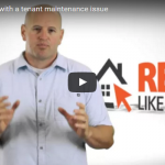 Steps for dealing with a tenant maintenance issue