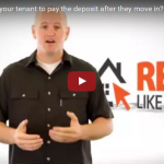 Should you allow your tenant to pay the deposit after they move in