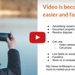 Video is becoming easier and faster
