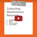 The right way to collect maintenance requests from tenants