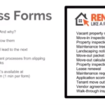 Where to find good property management process forms