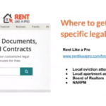 Where to find good state specific lease and eviction forms