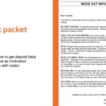 How a move out packet can save you hundreds of dollars when tenants move out