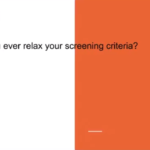 Should you ever relax your tenant screening criteria